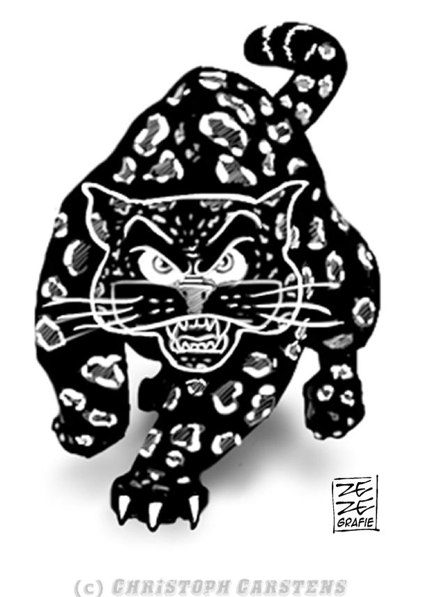 Illustration Black Jaguar