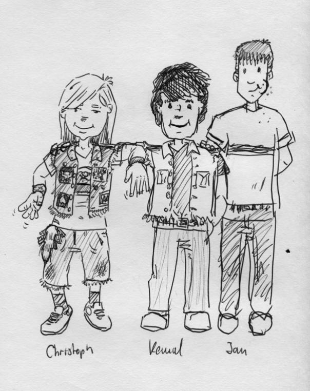 skizze-jungs-80er-freunde
