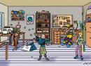 illustration suchbild schneiderei werkstatt recycling
