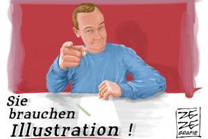 brauche illustration berlin deutschland
