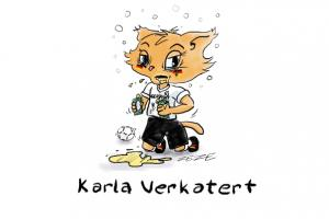 cartoon frauen wm karla