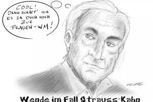 Karikatur Strauss Kahn