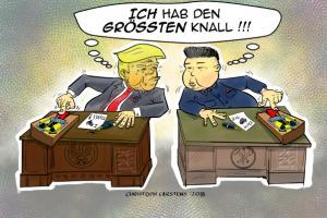 karikatur_donald_trump_Kim_un_atom
